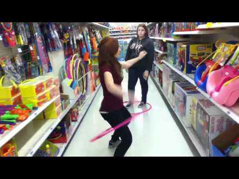 HULA HOOP CONTEST IN KMART