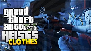 GTA 5 Online Heist DLC New Clothes & Masks Update