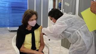 Vacinação Serra Negra - Idosos acima de 80 anos