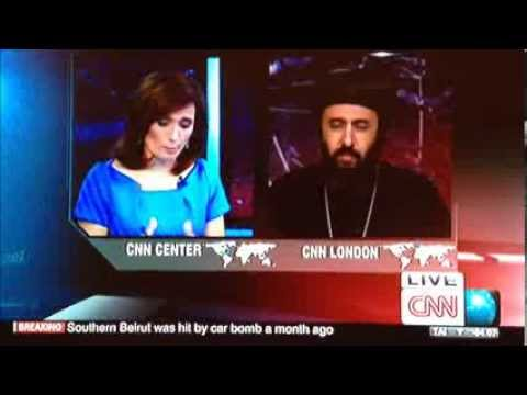 CNN interviews HG Bishop Angaelos on 15 August 2013