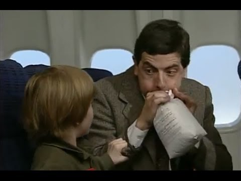 Mr Bean - Im Flugzeug - YouTube
