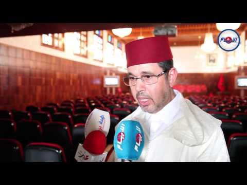 عبد النباوي بعد تنصيبه كوكيل عام للملك