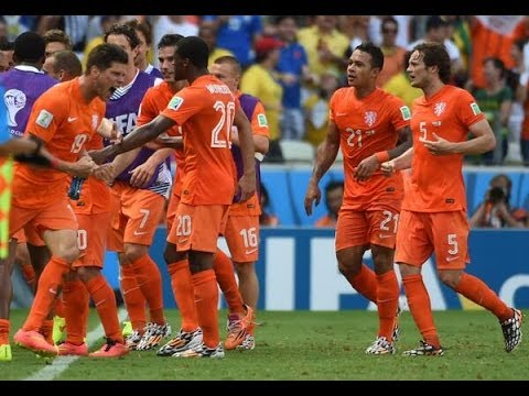 Netherlands vs. Mexico All Goals & Highlights 2014 Brazil World Cup Group A [29.06.14] (Sim)