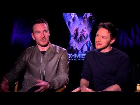 X-Men Interview: Patrick Stewart, Michael Fassbender, James McAvoy & Ellen Page