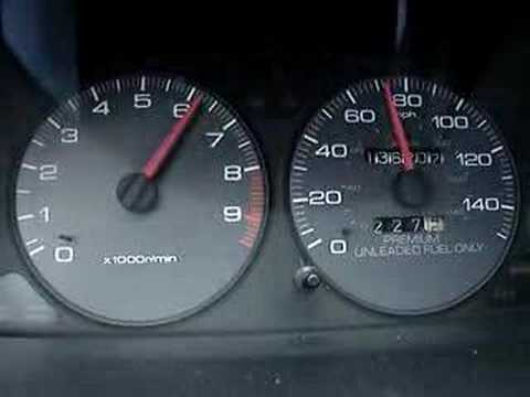 Acura Integra  on 96 Acura Integra Gsr 0 70 Mph Stock Motor   Youtube
