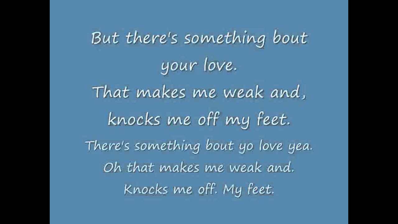 Donell Jones - Knocks Me Off My Feet (Official Video ...