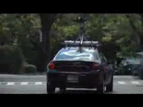 'Google Streets' car