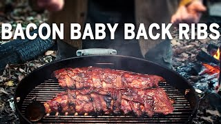 Baby Back Bacon Ribs Recipe By The BBQ Pit Boys
