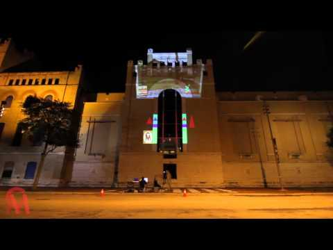 Projection'ing at San Antonio Museum of Art