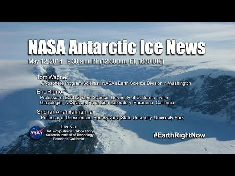 UPCOMING EVENT NASA Antarctic Ice News
