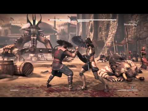 MKX Online - Kitana Assassin vs Kung Lao Buzz Saw