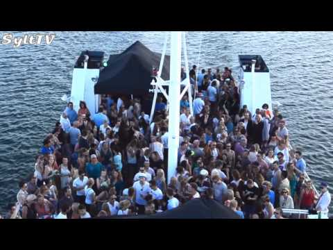 "Sommer Party auf Event Boot "" MS KOI"" vor Sylt"