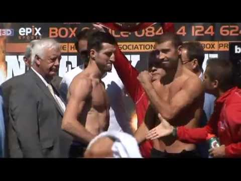 Froch v Bute Weigh-in 25/05/2012
