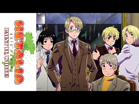 Hetalia: Paint It, White! Movie trailer (English)