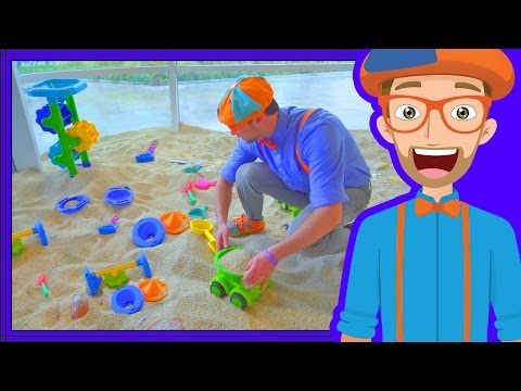 Blippi Plays at the Childrens Museum  Learn Colors for Toddlers
