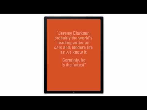 iClarkson - The new Jeremy Clarkson App for iPad trailer