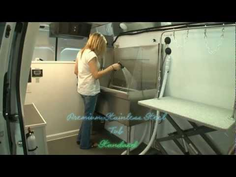 Hanvey X2 Mobile Dog Grooming Van, You Can Make over $100,000/yr! Hanvey Engineering