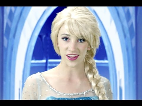 Frozen Let it Go - In Real Life