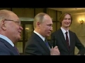 Putin sings! Russian president unveils surprising talent