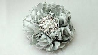 Gorgeous Fabric Flower, Tutorial, DIY, How To Do