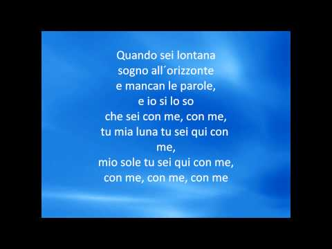 Andrea Bocelli & Sarah Brightman - Time to say goodbye (Con the partiró) + lyrics