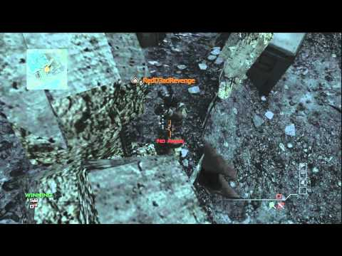 MW3 / Modern Warfare 3 - Super Jump Glitch  Ontop of Map Downturn
