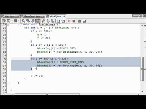 Creating A Tiled Map - #4 - Intermediate Java Game Programming Tutorials (TheJavaHub)