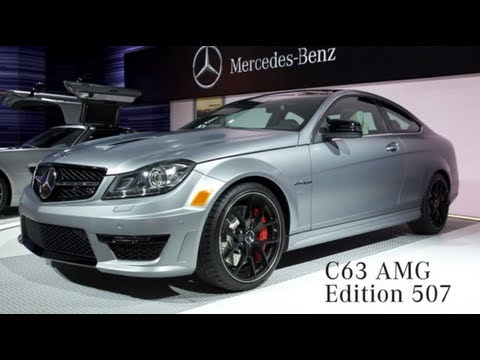 C63 amg edition 507 product manager walk around for Mercedes benz c63 amg edition 507
