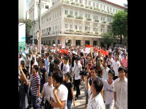 Biểu tình chống TQ ngày 5 tháng 6 năm 2011 (1/5)