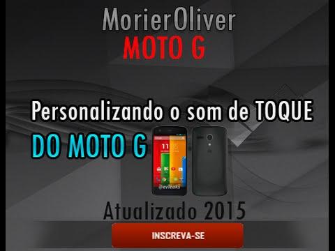 #1 MOTO-G / Como botar música personalizada em Toque de Chamada!