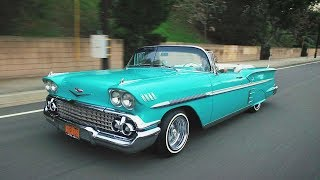 Steve Alvarez-Mott and his 1958 Chevrolet Impala - Lowrider Roll Models Ep. 1. MotorTrend.