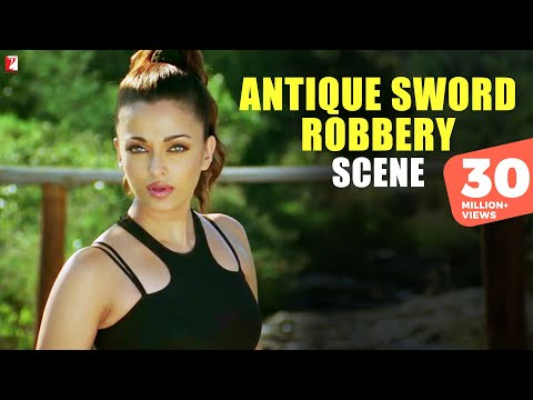 Antique Sword Robbery - Scene - Dhoom 2