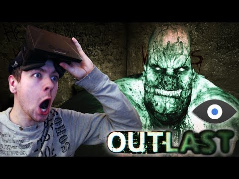 OUTLAST with the OCULUS RIFT (VorpX) | SOME SCARY SH*T