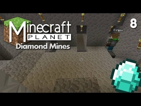 Minecraft Planet - The Diamond Mine