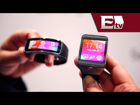 Mobile World Congress 2014: Samsung presenta dos nuevos relojes inteligentes/ Hacker Paul Lara