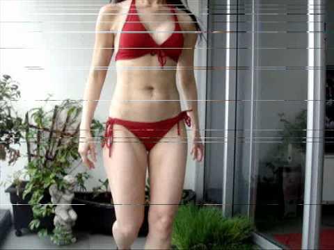 P90X Results & Raw Vegan Diet 90 Days Female Body Transformation ...