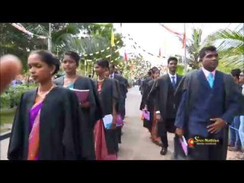 Convocation 2014 University of Jaffna Session 02 Student Procession