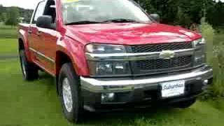 2008 Chevrolet Colorado crew cab side test videos