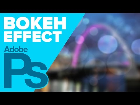 How to Create a BOKEH Effect in Photoshop!