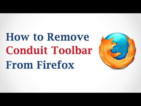 How to Remove Conduit Toolbar from Mozilla Firefox?