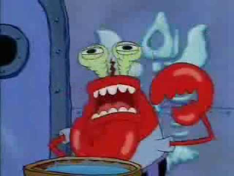 mr krabs choking while i play unfitting music youtube