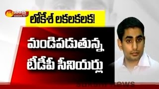 TDP Senior Leaders Unhappy with Nara Lokesh