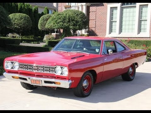 1968 plymouth road runner hemi classic muscle car for sale in mi vanguard motor sales youtube. Black Bedroom Furniture Sets. Home Design Ideas