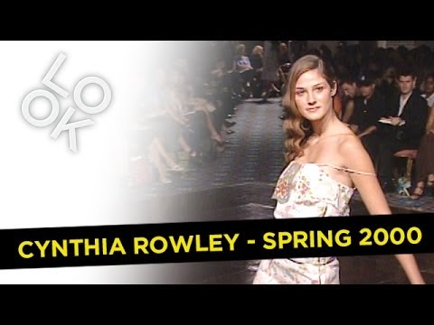 Fashion Flashback: Cynthia Rowley Spring 2000