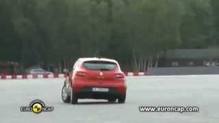 Renault Clio ESC Test - Euro NCAP 2012