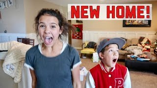 WE FOUND A HOME! THE KIDS DID NOT EXPECT THIS HOUSE!