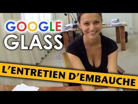 image vidéo Google Glass: l'entretien d'embauche