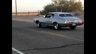 1970 Buick Skylark 462 burnout