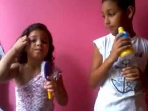 Samuel e Ana Julia Louvando