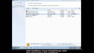 Uninstall QuickBooks On Windows 7